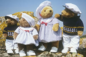 Lakeland Bear Sailor Clothes