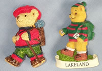 Lakeland Bear Fridge Magnets