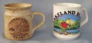 Lakeland Bear Mugs
